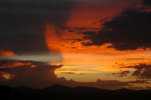 Sunset Near Monte Vista