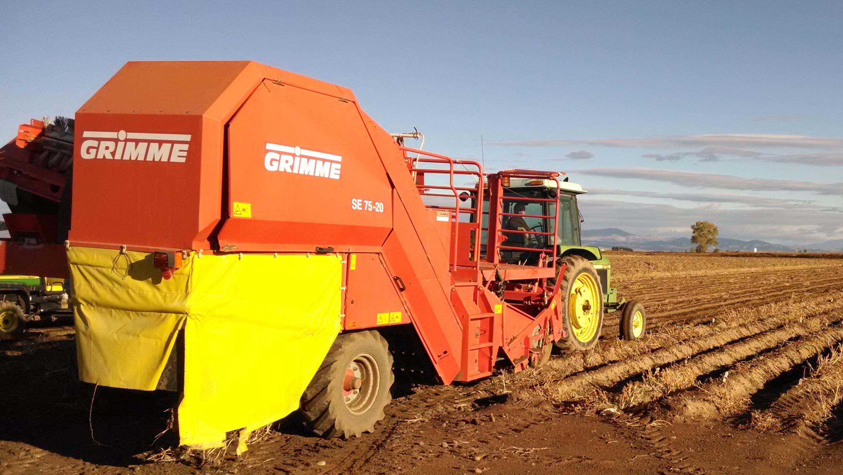 One Row Harvestor